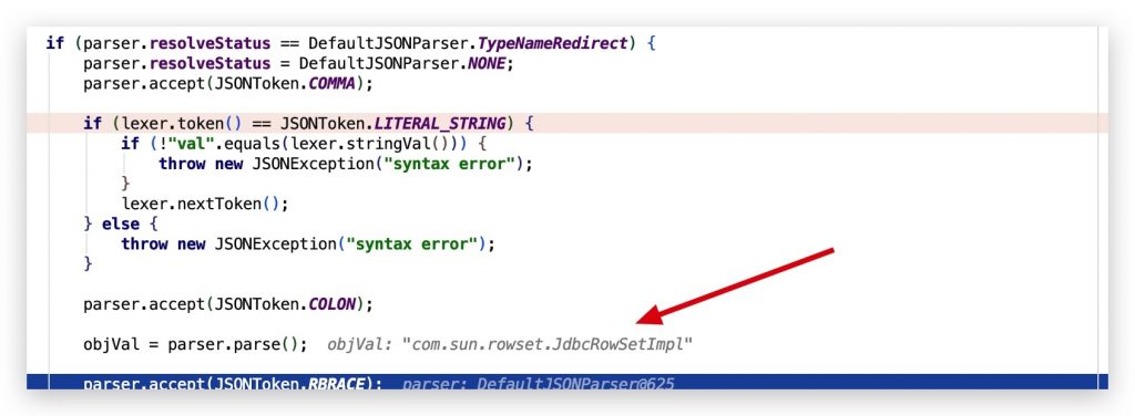 《fastjson =< 1.2.47 反序列化漏洞浅析》