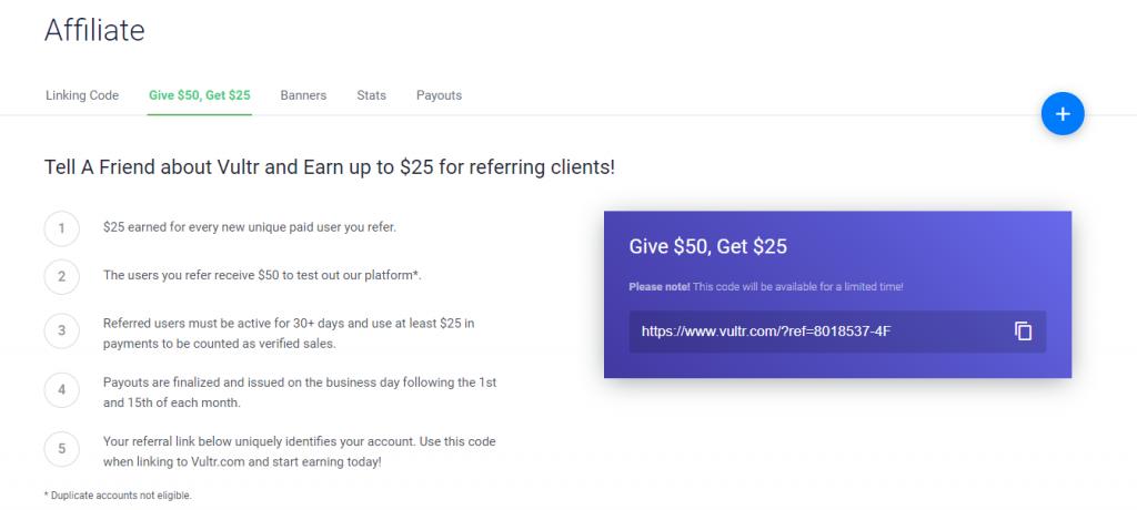 《10月最新Vultr优惠码整理 – 新注册充值赠送50美元》